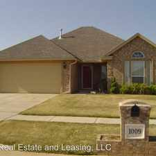Rental info for 1009 NE 32ND STREET in the Oklahoma City area