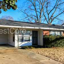 Rental info for 4886 Violet Ave Memphis, TN 38122 in the Memphis area