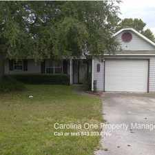 Rental info for 8585 Brookforest Drive in the North Charleston area