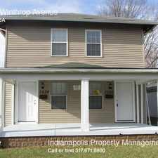 Rental info for 3236 Winthrop Avenue in the Indianapolis area