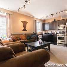 Rental info for 110 1st Street #3 in the Jersey City area