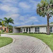 Rental info for EASTSIDE 4/2 HOUSE WITH POOL-VERY NICE $2,655 Mo ***SEE REMARKS & PHOTOS*** in the Fort Lauderdale area