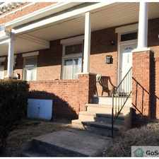 Rental info for quiet and beautiful neighborhood in the Baltimore area