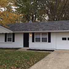 Rental info for 4319 MEADOWLARK COURT in the Indianapolis area