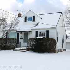 Rental info for 21400 Naumann Avenue in the 44123 area