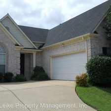 Rental info for 965 W Nesting Wood Circle in the Memphis area