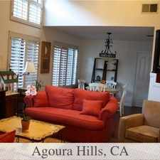Rental info for Ready For Immediate Move In. in the Agoura Hills area