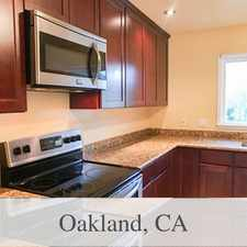 Rental info for House In Move In Condition In Oakland in the Oakland area