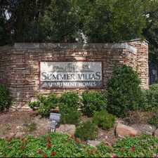 Rental info for Summer Villas in the Dallas area