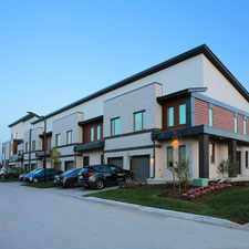 Rental info for West 5 Townhomes - The Tara Townhome for Rent in the London area