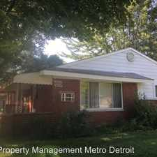 Rental info for 26131 Coolidge Highway in the 48237 area