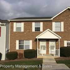 Rental info for 1422 Christine Court in the Blacksburg area
