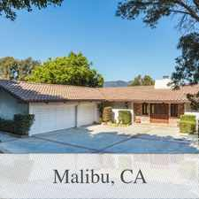 Rental info for Outstanding Opportunity To Live At The Malibu C...