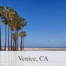 Rental info for Gorgeous Beach Front Unfurnished 1 Bed/1 Bath C... in the Los Angeles area