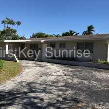 Rental info for 314 NW 49 Ave in the Plantation area