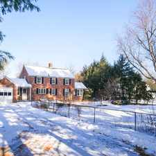 Rental info for Stately Brick Colonial (Acreage!) in the 01001 area