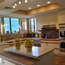 Rental info for Golf Course, Lake, And Mountain. Parking Availa... in the Rancho Mirage area