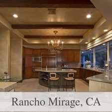 Rental info for Spectacular Estate At Mirada Estates! in the Rancho Mirage area