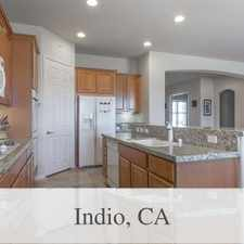 Rental info for Indio Luxurious 3 + 2.50. Parking Available! in the Indio area