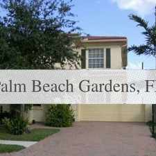 Rental info for 3 Bedrooms - GREAT FAMILY HOME & COMMUNITY ... in the Palm Beach Gardens area