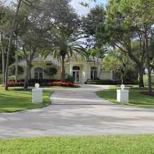 Rental info for Attractive 4 Bed, 4 Bath. Single Car Garage! in the Palm Beach Gardens area