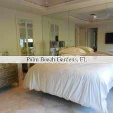 Rental info for House In Great Location in the Palm Beach Gardens area