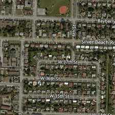 Rental info for Nice 2BR/ 1BA Duplex Just South Of Silver Beach... in the West Palm Beach area