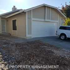 Rental info for 1028 Sonora Court