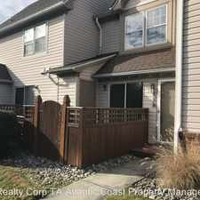 Rental info for 3827 Rivanna River Reach Unit A in the Chesapeake area