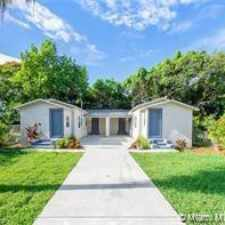 Rental info for 50 Northwest 42nd Street in the Miami area
