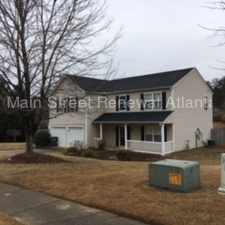 Rental info for 632 Stonecrest Drive Southwest