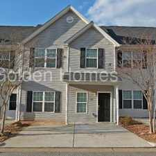 Rental info for Beautiful Townhome