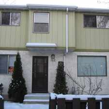 Rental info for Clareview village - Townhouse Townhome for Rent in the Belmont area
