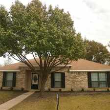 Rental info for 4118 Cheyenne Dr. Rowlett, TX 75088 in the Garland area