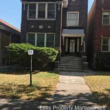 Rental info for 7255 S Indiana in the Park Manor area