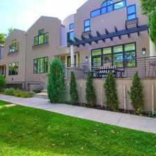Rental info for $7500 4 bedroom Townhouse in Denver Central City Park in the Aurora area