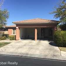 Rental info for 96 Emerald Dunes Cir. in the Sun City Anthem area