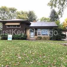 Rental info for 12513 S McVickers Ave Palos Heights IL 60463