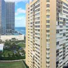 Rental info for 1904 South Ocean Drive #1801 in the Hallandale Beach area