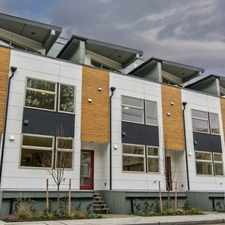 Rental info for $3500 3 bedroom Townhouse in West Seattle in the Seattle area