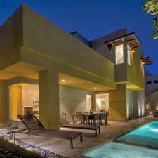 Rental info for IN ESCROW! | Modern Luxury in Tangerine in the Palm Springs area