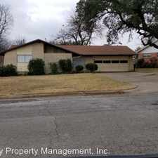Rental info for 1217 Briarwood in the Cleburne area