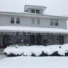 Rental info for South Bend south Side apartment.
