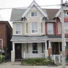 Rental info for 577 Dufferin Street #2nd Flr. in the Roncesvalles area