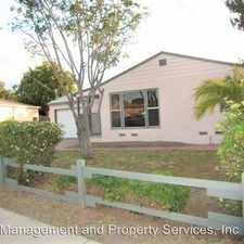 Rental info for 124 South Drexel Avenue in the 91950 area
