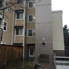 Rental info for 4118 SW College Street, Unit 105 in the Seattle area