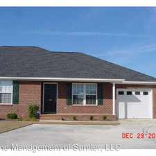 Rental info for 40 Beacon Court in the Sumter area