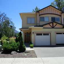 Rental info for 1789 Hill Park Place in the Grants Pass area