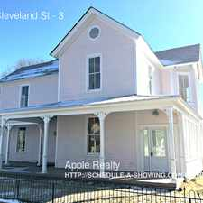 Rental info for 802 Cleveland St in the Durham area