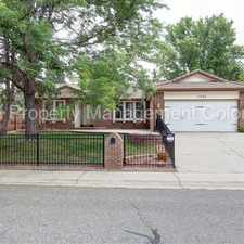 Rental info for Gorgeous Home in Arvada in the Arvada area